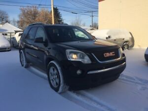 2008 GMC Acadia SLE/ 6 MONTHS WARRANTY INCLUDED.