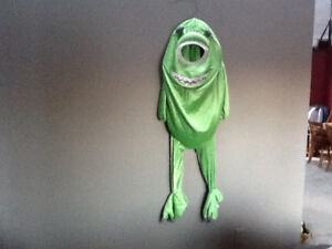 Halloween Costume: Mike Wazowski from Monsters, Inc