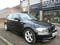 2008 BMW 116 1.6 i Edition ES 5DR 08 REG Petrol Black