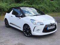 2012 Citroen DS3 1.6 e-HDi Airdream DStyle Plus 3dr HATCHBACK in WHITE