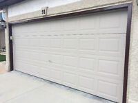Don't Paint Your Garage Door Frame!