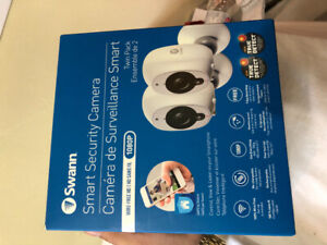 Swann smart security camera twin pack
