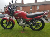 Yamaha YBR125 Learner motorcycle PX Swap UK Delivery