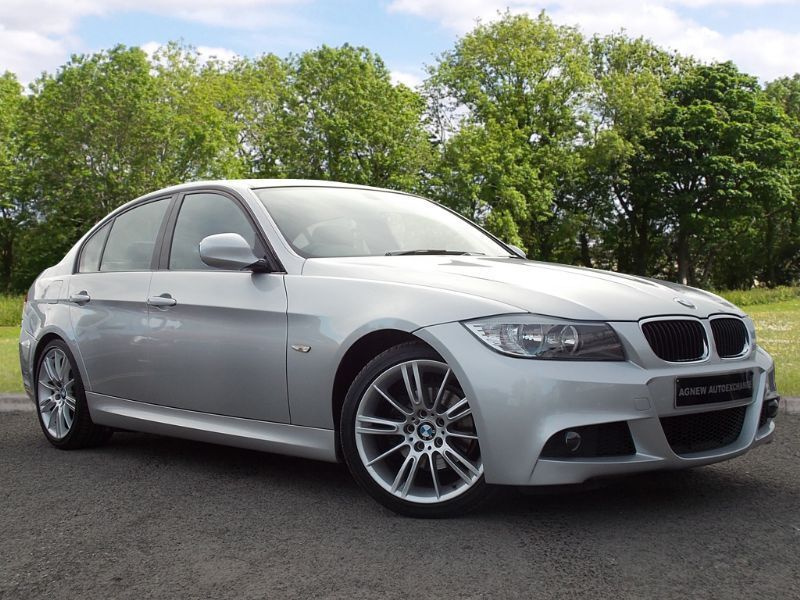 BMW 3 SERIES 2.0 318i M Sport Business Edition 4dr (silver) 2010