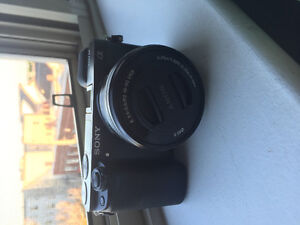 Sony a6000 mirrorless camera with 16-50mm kit lens