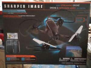 BRAND NEW Sharper Image Streaming Edition Video Streaming Drone