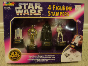 Star Wars 4 Figurine Stampers *NEW IN BOX*