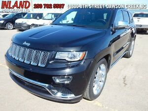 2014 Jeep Grand Cherokee Summit  Leather,4X4,Rear Camera,Nav,Air