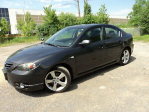 2005 MAZDA 3 GT SEDAN SUNROOF 2.3L CERTFIED E-TESTED CLEAN PROOF
