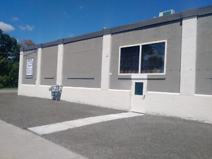 Commercial shop space for rent close to downtown