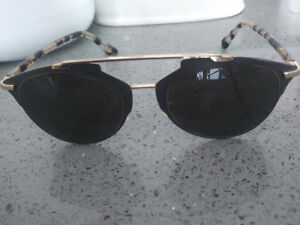 RAY-BAN round and Christian Dior used sunglasses