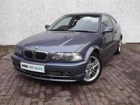 BMW 330Ci SE COUPE MANUAL, AUGUST '17 MOT, EXCELLENT HISTORY, LEATHER SEATS