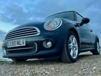 Mini 1.6 Cooper [122] 3dr Automatic facelift with FSH, Black, 2010