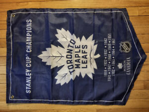 MOLSON NHL Stanley Cup Winners Banner Flags