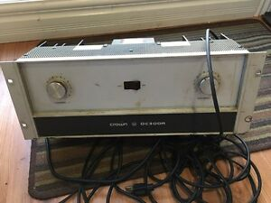 Crown amp DC 300A