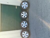 Jeep Wrangler Rims & Snow Tires