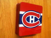 Canadiens Tin w/ CD, Deck of Cards and Stanley Cup Fact Cards