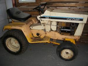 tracteur a jardin industriel
