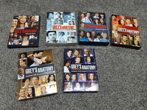 Grey's Anatomy 1-6