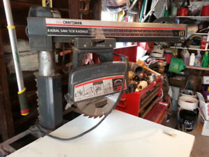 10in radial arm saw and stand