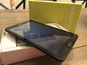 Brand new Samsung Tab E with LTE