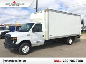 2011 Ford E-450 16ft Cube Van Gas!