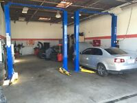 Space available for lease/rent Auto Repair shop in Brampton