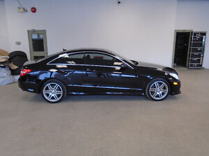 2010 MERCEDES E550 COUPE! ONLY 43,000KMS!!! MINT! ONLY $29,900!