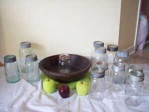 ANTIQUE  JARS  ** SEE EACH PRICE + MINIMUM