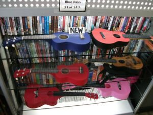 NEW! Ukulele & Musical Instruments.  Great Deals!!
