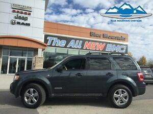 2008 Ford Escape XLT  SNOW TIRES, SUNROOF, LEATHER HEATED.