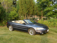 2003 Chrysler Sebring Limited Convertible (2 door)