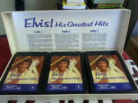Elvis His Greatest Hits on 8-track (3 tapes) in box set