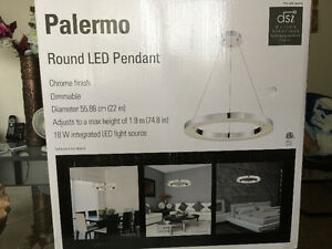 New Palermo Round LED Pendant