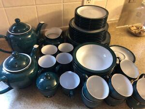 Denby Greenwich Dinnerware Full Set