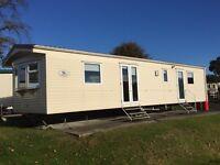 Static caravan for sale At Wemyss Bay holiday park near Largs Saltcoats Stevenson Ayr