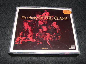 The Clash - The Story of the Clash (1988) coffret 2cds Punk Rock