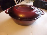 NEW Cast Iron Dutch Oven - Delivery