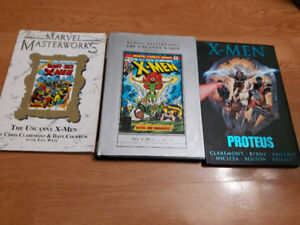 Marvel Uncanny X-Men Collected editions (issues1,94-110,125-128)