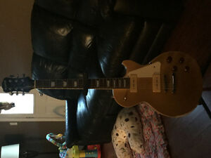 Epiphone les Paul standard lookin to trade for electric acoustc