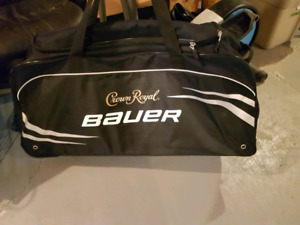 BAUER CROWN ROYAL HOCKEY BAG