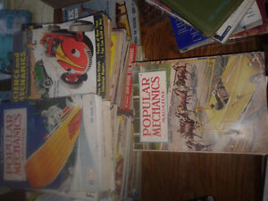 over 50 vintage Magazines, Modern Invention,, Popular science...