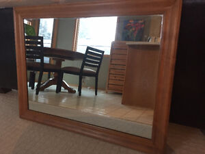 """Solid High Quality MIrror and Frame 32""""H X 42""""W - $40"""