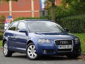 AUTO Audi A3 1.6 2006 SE +BOSE +PARKING SENSORS +BLACK LEATHER +FSH +WARRANTY