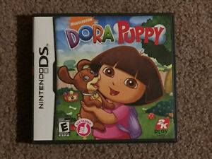 Nintendo DS  Dora puppy