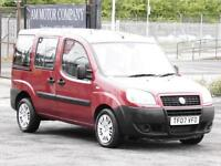 Fiat Doblo 1.3 Diesel, Active, Red, 2007, 66 000 Miles, 6 Months AA Warranty