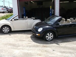 2008,2003 Volkswagen Beetle Convertible,2  Choose From,YARMOUTH