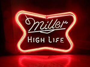 MILLER HIGH LIFE VINTAGE NEON SIGN - 16 1/4 X 21 1/2.