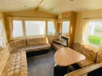 3 BED STATIC CARAVAN FOR SALE, DOUBLE GLAZED & CENTRAL HEATED, NORTH WALES