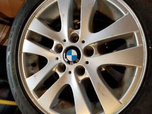 Bmw mags and winter tires